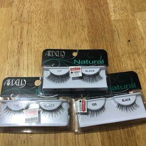 3 packs kiss eyelashes